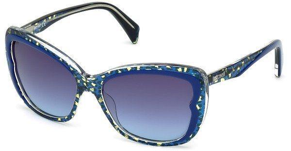 Just Cavalli Damen Sonnenbrille » JC719S« in 92W - blau/blau