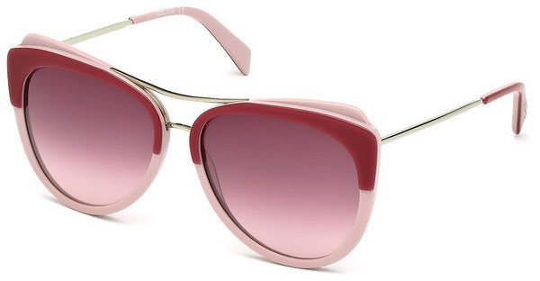 Just Cavalli Damen Sonnenbrille » JC721S« in 68Z - rot/lila