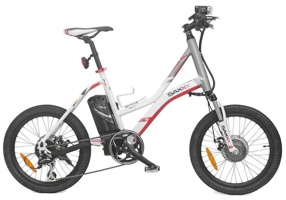 saxxx e bike city link 8 gang shimano kettenschaltung. Black Bedroom Furniture Sets. Home Design Ideas