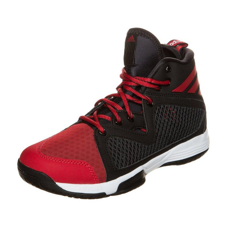 adidas Performance Adizero PG Basketballschuh Kinder in schwarz / rot / weiß