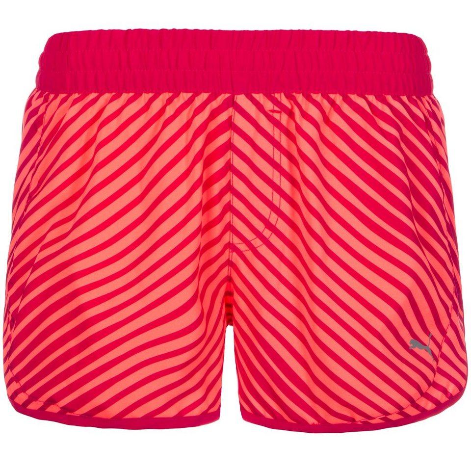 PUMA Blast Laufshort Damen in pink / koral