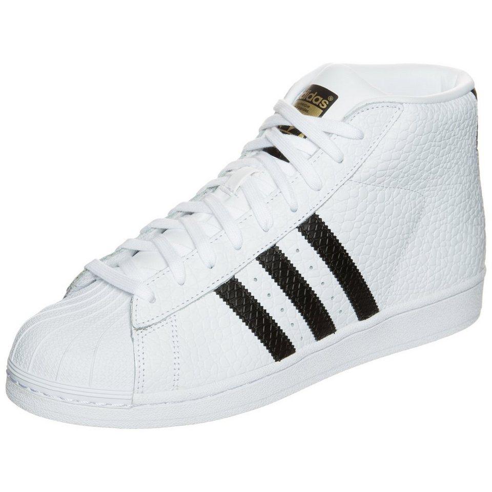 adidas Originals Superstar Pro Model Animal Sneaker in weiß / schwarz