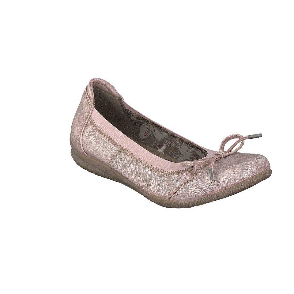 MUSTANG SHOES Ballerina in rose