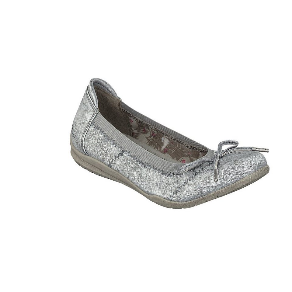 MUSTANG SHOES Ballerina in silber