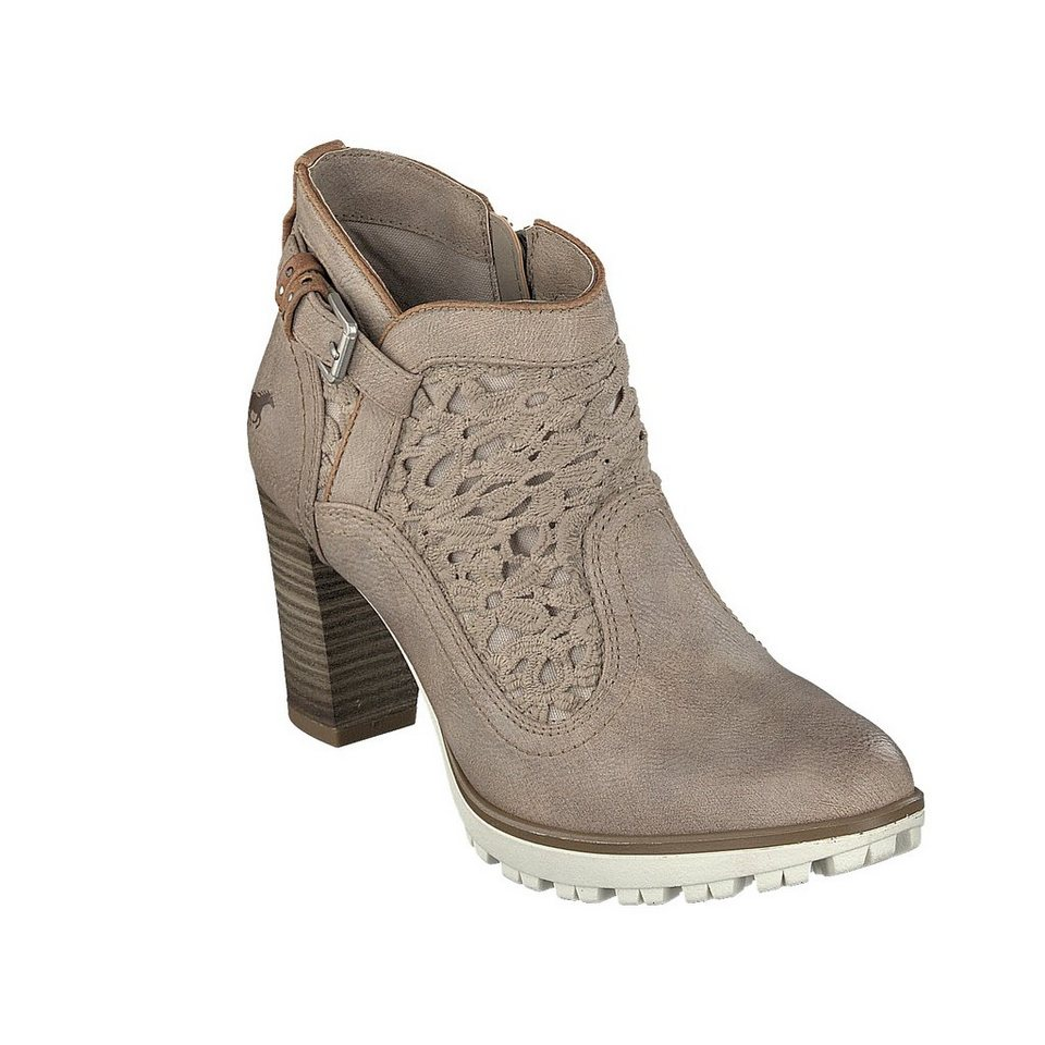 MUSTANG SHOES Stiefelette in taupe