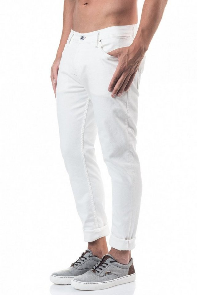 salsa jeans Jean »Slim Carrot/ Slender« in White