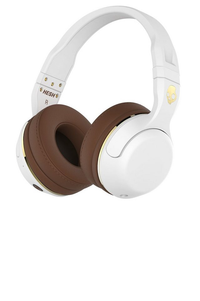 Skullcandy Headset »HESH 2 OVER-EAR WIRELESS WHITE/BROWN/GOLD« in mehrfarbig