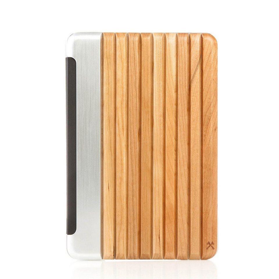 Woodcessories EcoGuard - Echtholz Case für iPad Mini 4 - Hooks in braun