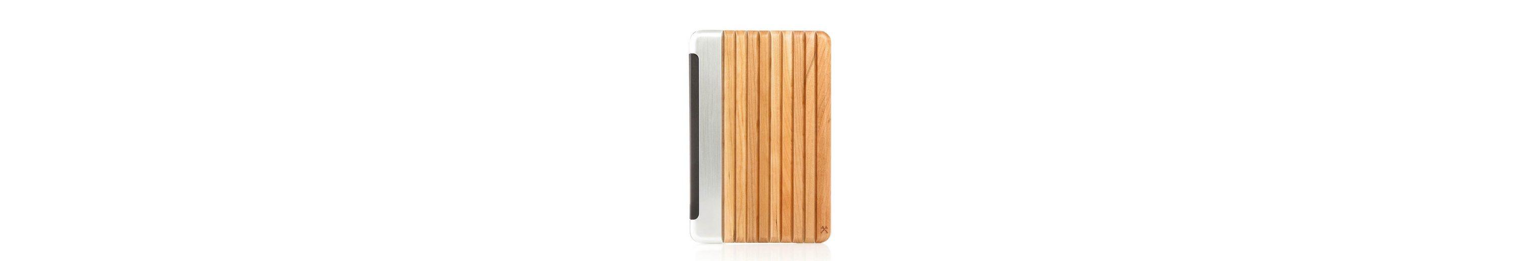 Woodcessories EcoGuard - Echtholz Case für iPad Mini 4 - Hooks