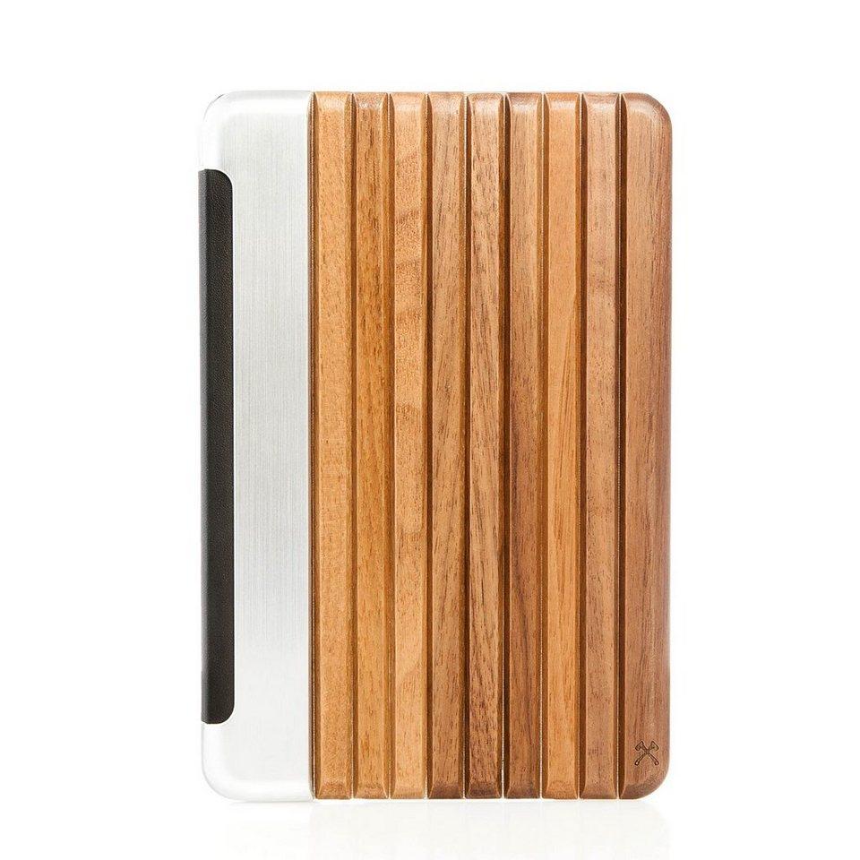 Woodcessories EcoGuard - Echtholz Case für iPad Mini 4 - Mahoni in braun