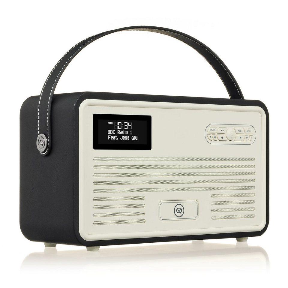 View Quest DAB+ Radio mit Lightning-Dock, Bluetooth »Retro MKII« in schwarz