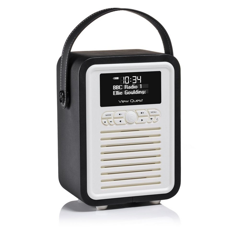 View Quest DAB+ Radio mit Bluetooth-Funktion »Retro Mini« in Schwarz