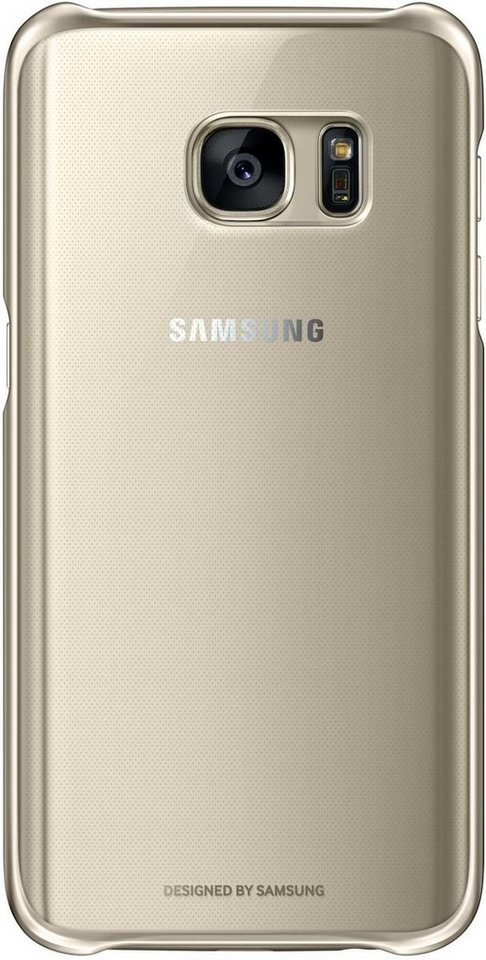 Samsung Handytasche »Clear Cover EF-QG930 für Galaxy S7« in Gold