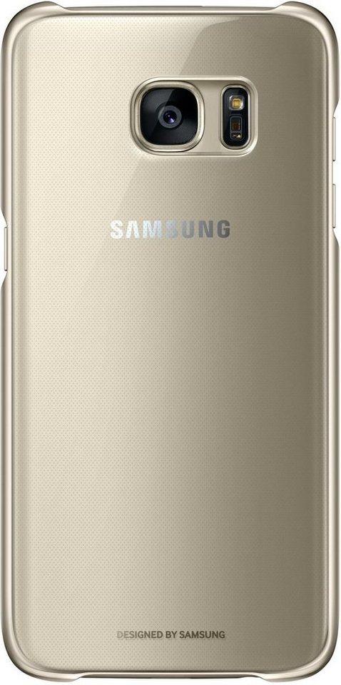 Samsung Handytasche »Clear Cover EF-QG935 für Galaxy S7 Edge« in Gold