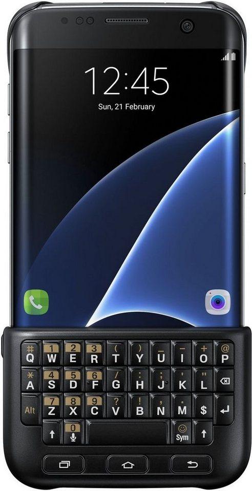 Samsung Handytasche »Keyboard Case mit Tastatur für Galaxy S7 Edge« in Schwarz