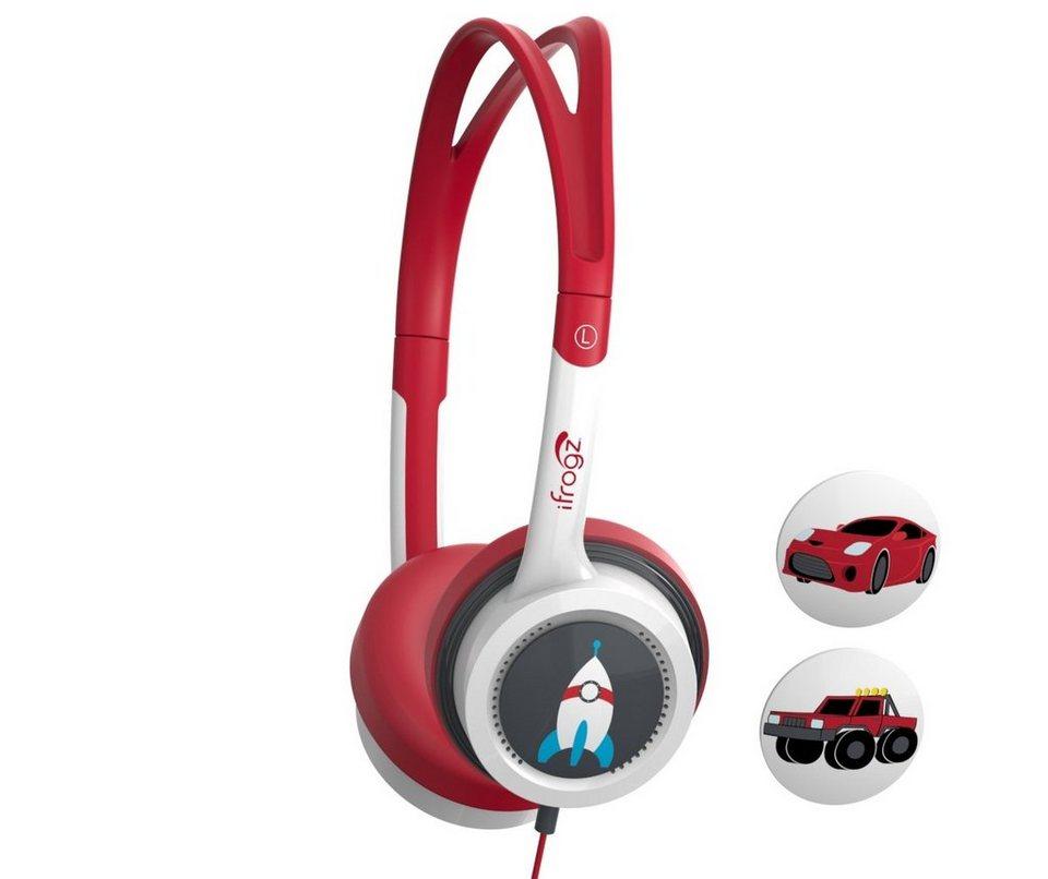 ZAGG Kopfhörer »Audio Little Rockerz Headphones« in Rot-Weiß