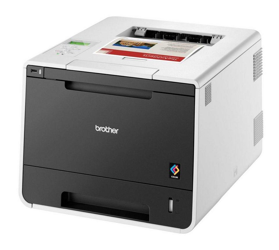 Brother Farblaser-Drucker »HL-L8250CDN Farblaserdrucker« in Weiß-Schwarz