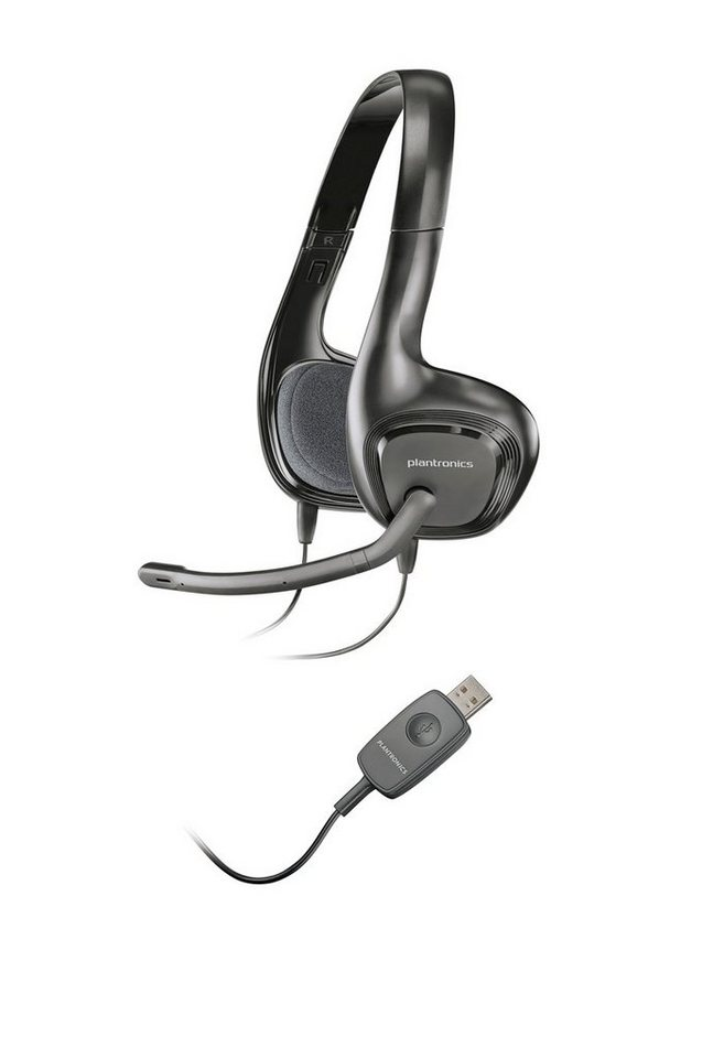 Plantronics Headset »622 USB Stereo Headset« in Schwarz
