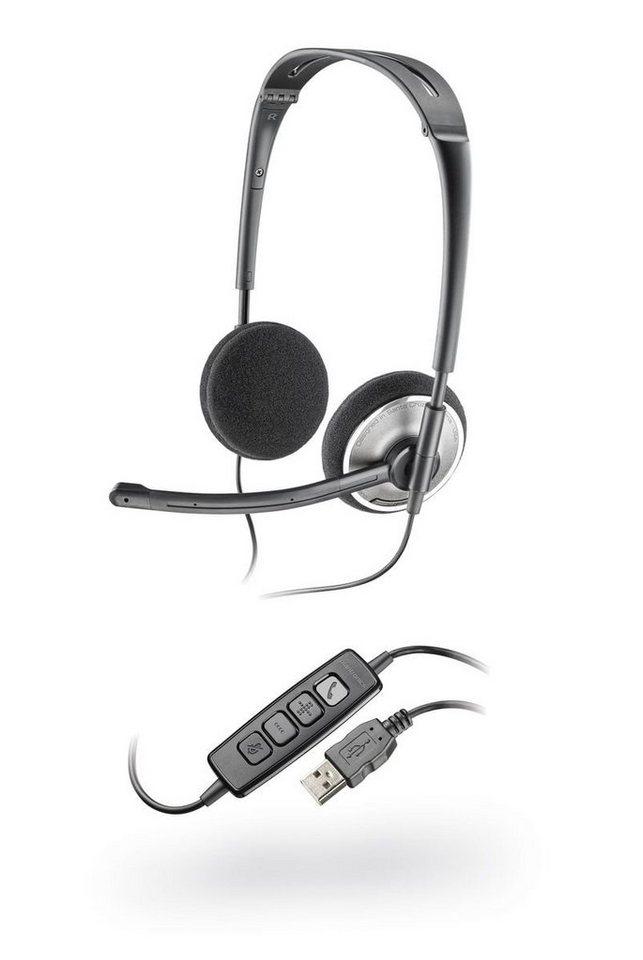 Plantronics Headset »478 DSP faltbares USB-Stereo-Headset«