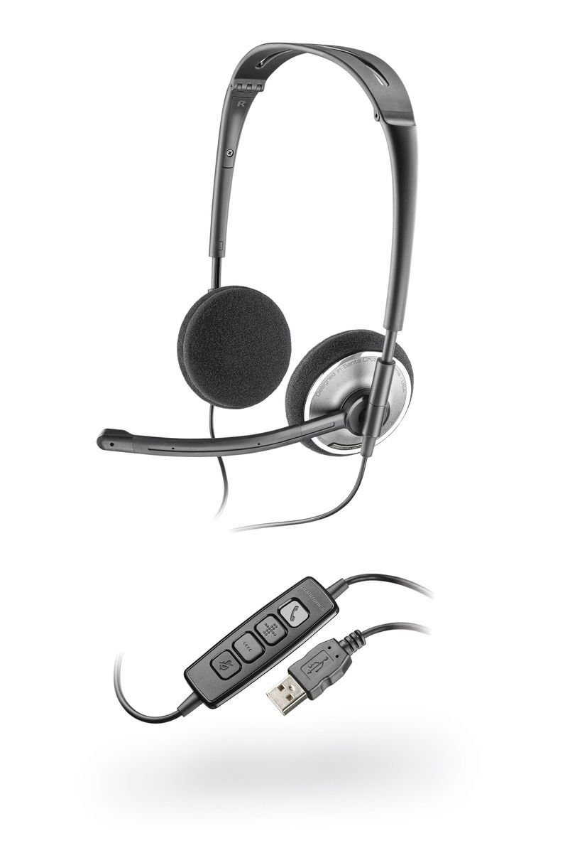 Plantronics Headset »478 DSP faltbares USB-Stereo-Headset«