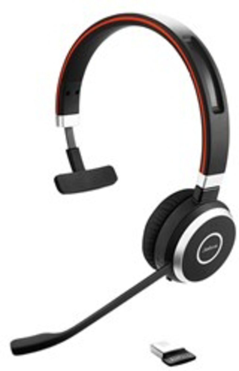 Jabra Headset »Evolve 65 MS Mono USB NC«