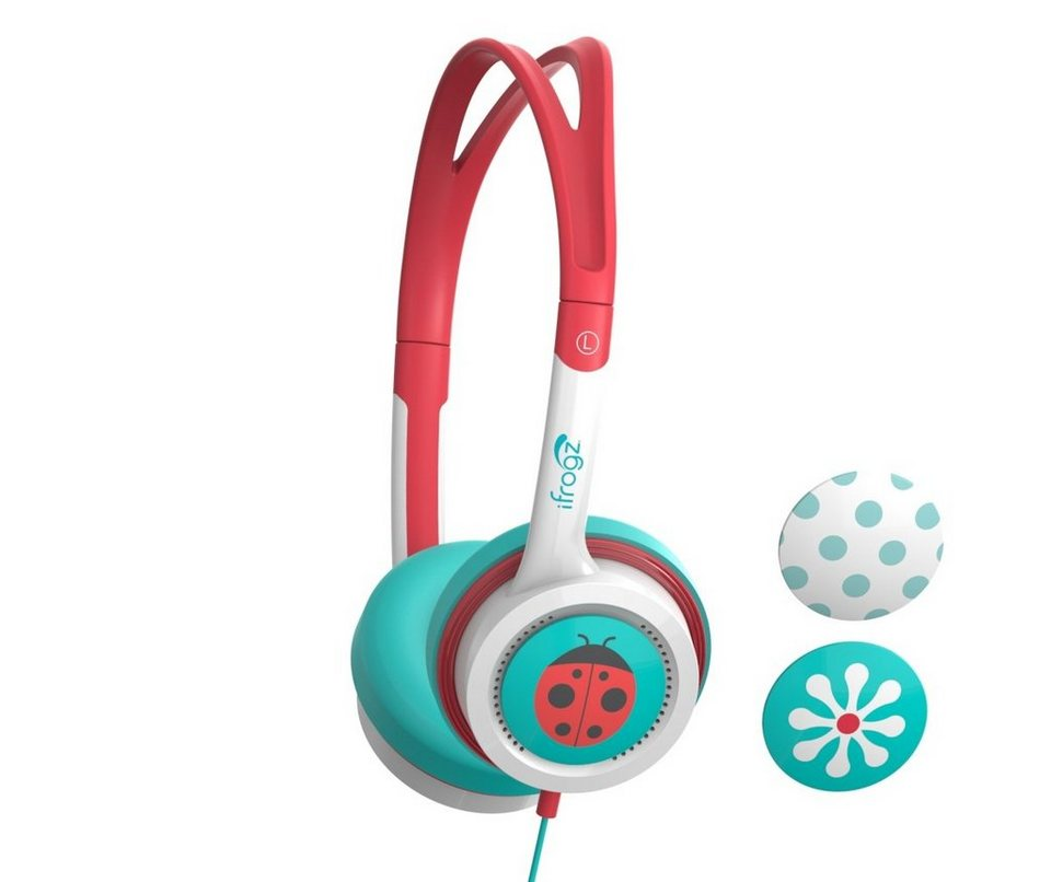 ZAGG Kopfhörer »Audio Little Rockerz Headphones« in coral -Türkis