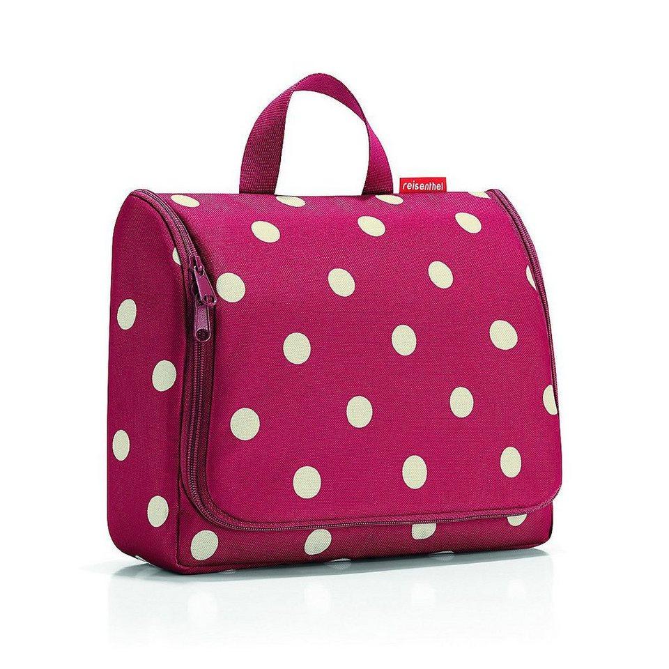 Reisenthel® Kosmetiktasche »TOILETBAG XL ruby dots« in ruby dots