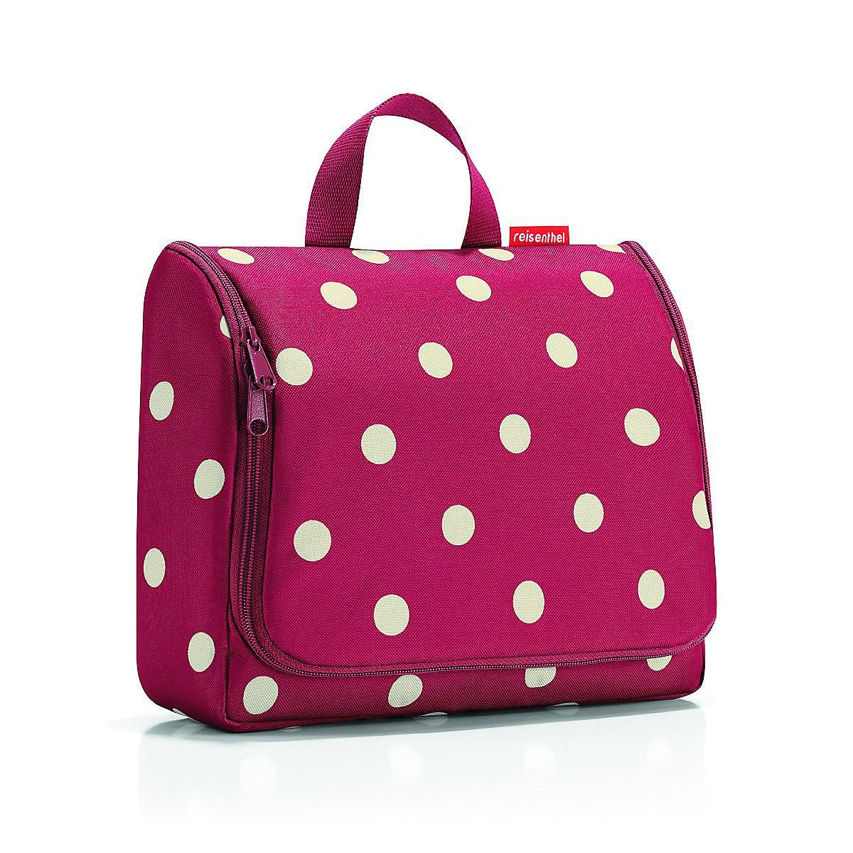 REISENTHEL® Kosmetiktasche »TOILETBAG XL ruby dots«