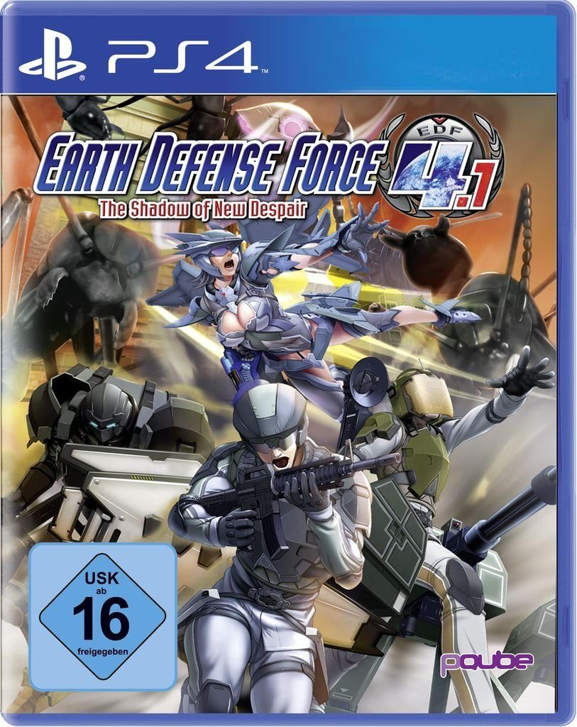 PQube Playstation 4 - Spiel »Earth Defense Force 4.1: The Shadow of New Despair«