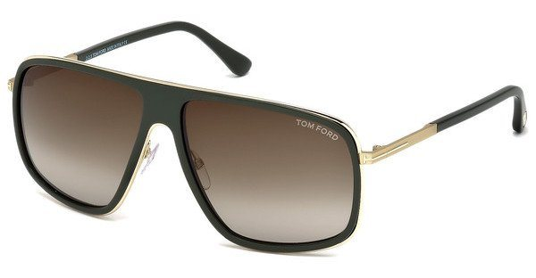 Tom Ford Herren Sonnenbrille » FT0463« in 98K - grün/braun