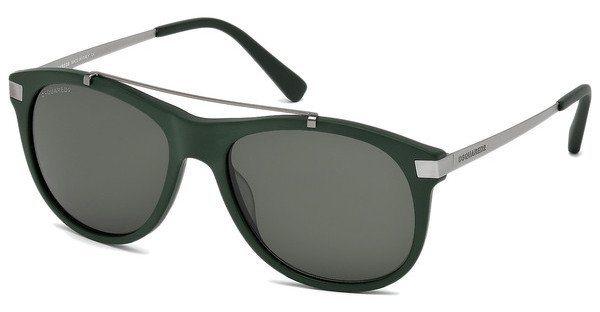 Dsquared² Herren Sonnenbrille » DQ0217« in 97N - grün/grün