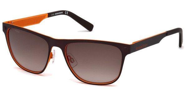 Dsquared² Herren Sonnenbrille » DQ0222« in 50F - braun/braun