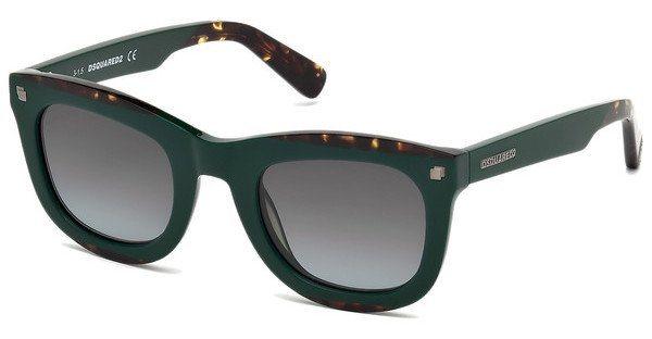 Dsquared² Sonnenbrille » DQ0223« in 98B - grün/grau