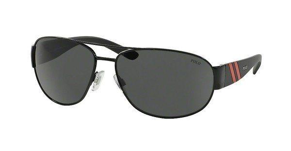 Polo Herren Sonnenbrille » PH3052« in 900387 - schwarz/grau