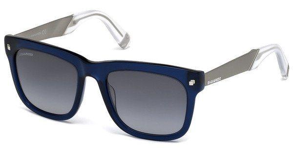 Dsquared² Sonnenbrille » DQ0220« in 90W - blau/blau