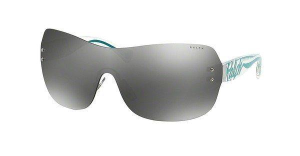 Ralph Damen Sonnenbrille » RA4106« in 102/6G - silber/silber