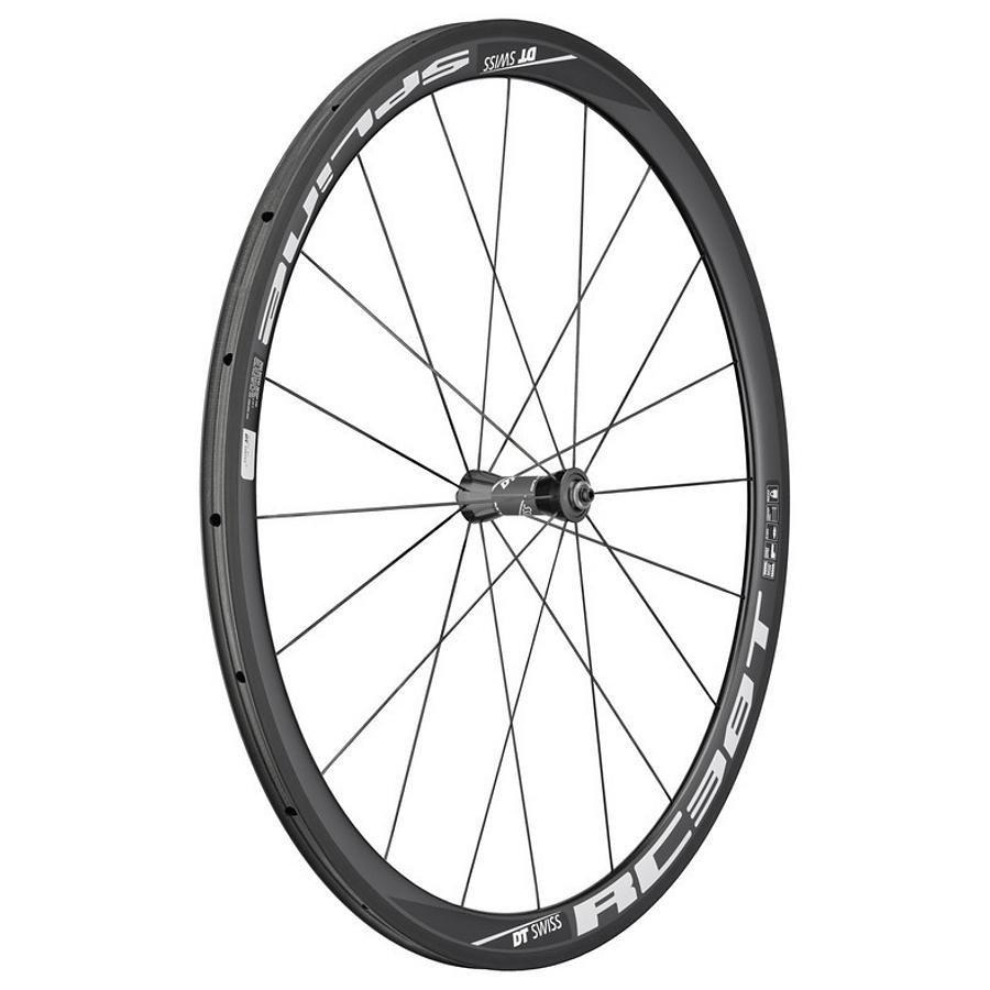 "DT Swiss Laufrad »RC 38 Spline T Laufrad 28"" VR Carbon 100/5 mm«"