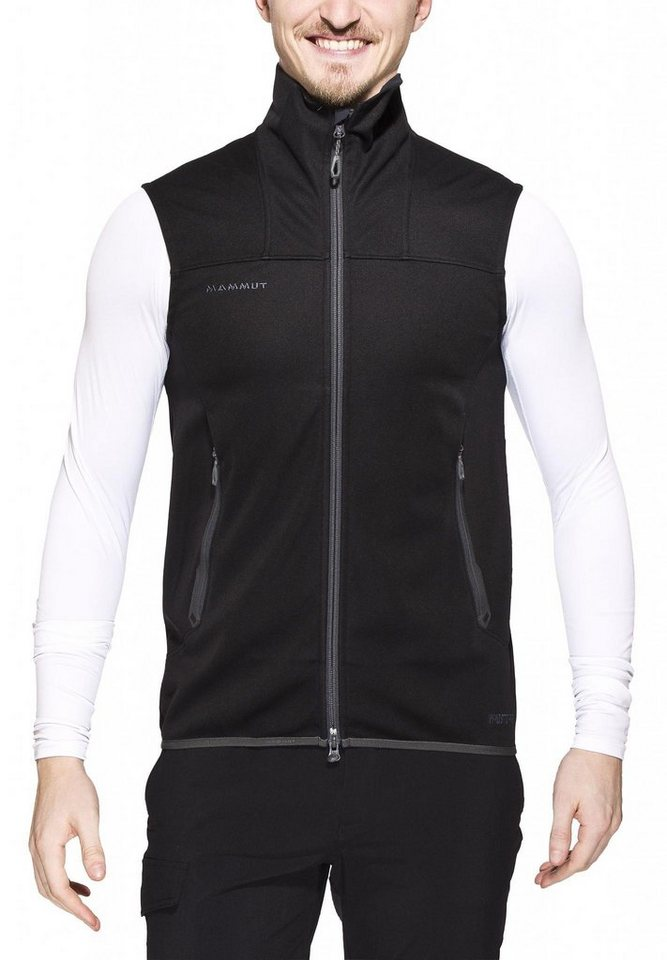 Mammut Weste »Ultimate SO Vest Men« in schwarz