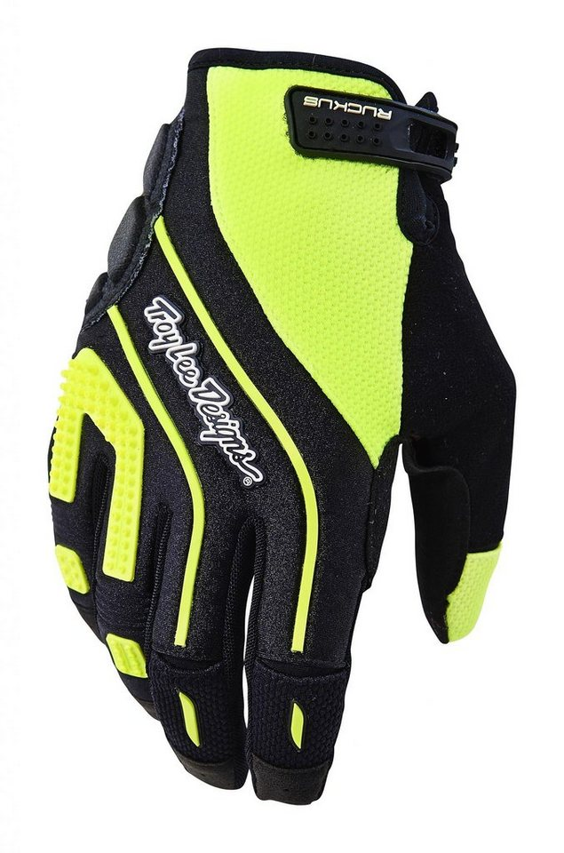 Troy Lee Designs Fahrrad Handschuhe »Ruckus Gloves Men« in gelb