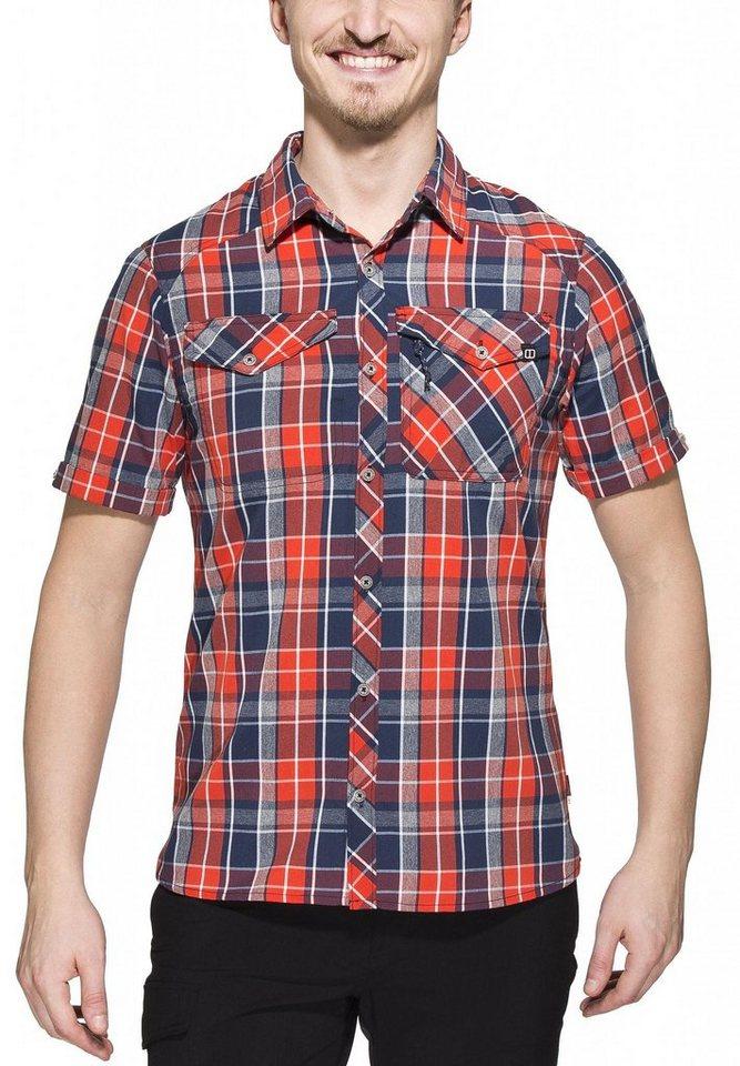 Berghaus Hemd »Eco SS Shirt Men« in blau