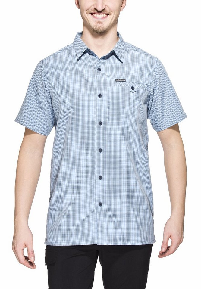 Columbia Hemd »Declination Trail II Short Sleeve Shirt Men« in blau