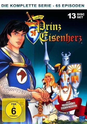 DVD »Die Legende von Prinz Eisenherz -...«