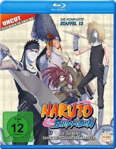 Blu-ray »Naruto Shippuden - Staffel 13 - Folgen 496-509«