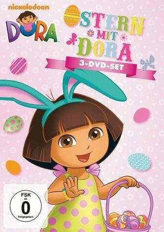 DVD »Dora - Ostern mit Dora (3 Discs)«