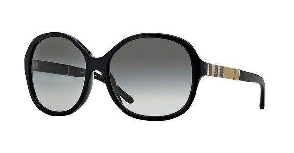 Burberry Damen Sonnenbrille » BE4178« in 300111 - schwarz/grau