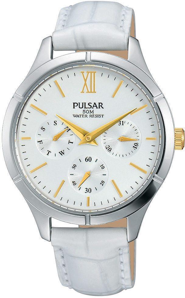 """Pulsar Multifunktionsuhr, """"Aus dem Hause Seiko"""", »PP6227X1«"""