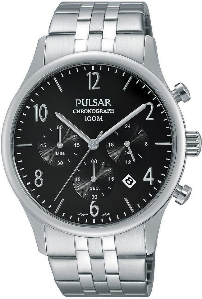 "Pulsar Chronograph, ""Aus dem Hause Seiko"", »PT3787X1« in silberfarben"