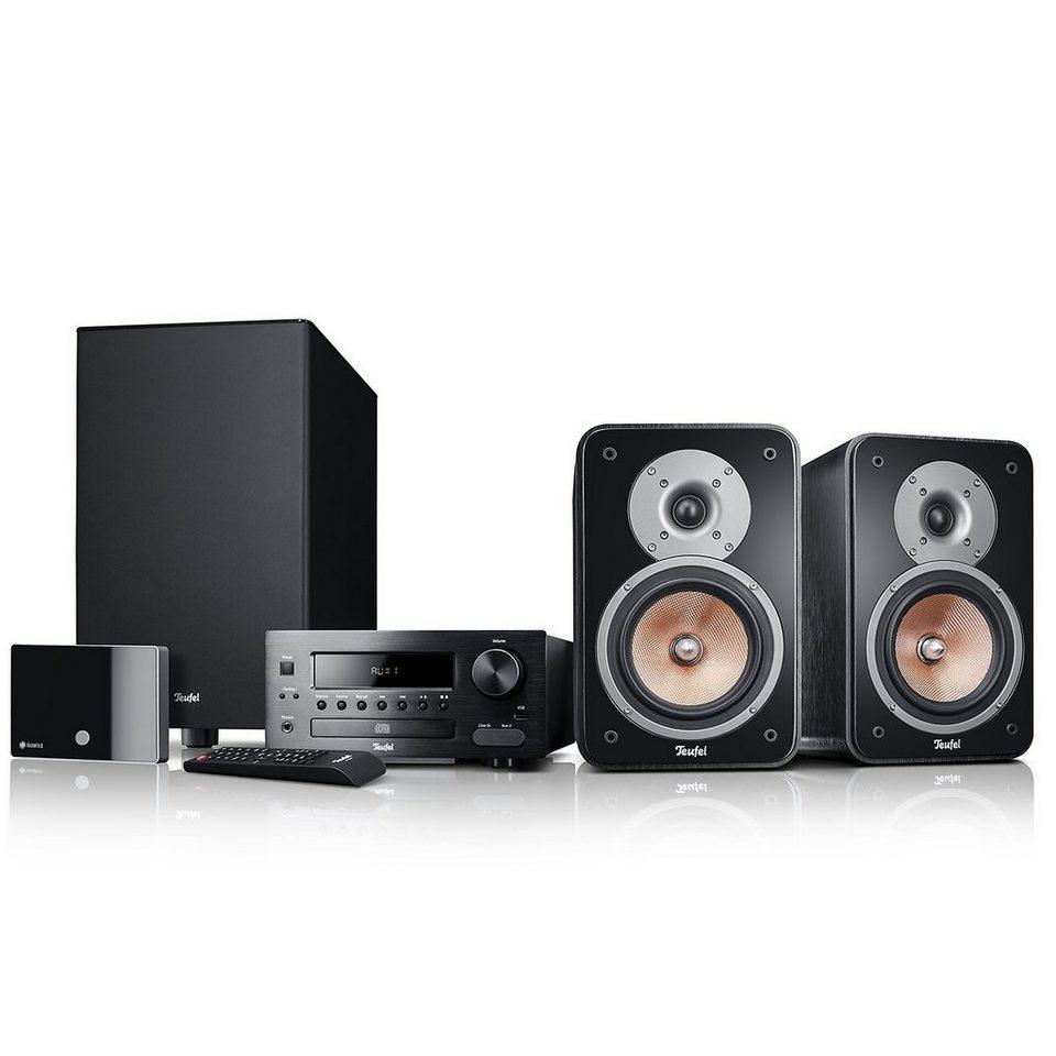 Raumfeld Stereo Lautsprecher »Kombo 42 XBE Streaming« in Schwarz