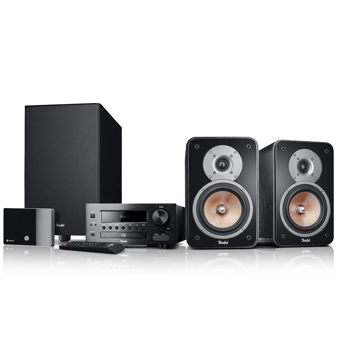 Raumfeld Stereo Lautsprecher »Kombo 42 XBE Streaming«