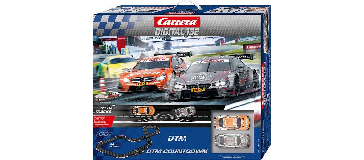Carrera® Autorennbahn mit Spurwechsel, »Carrera®Digital 132 DTM Countdown«